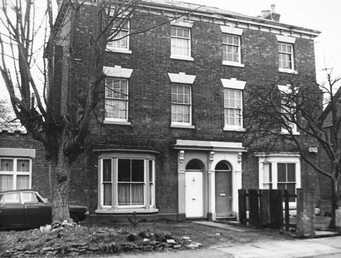 Clarendon House and Westwood House in 1978
