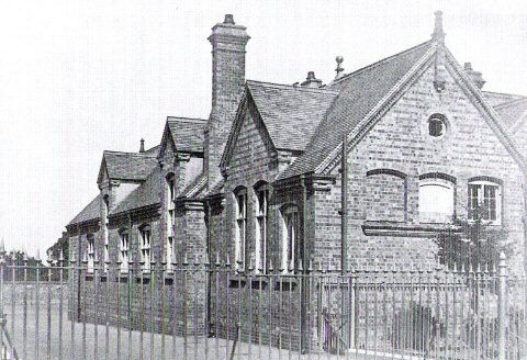 The original Earlsdon School Building